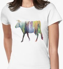 Guernsey cow Women's Fitted T-Shirt