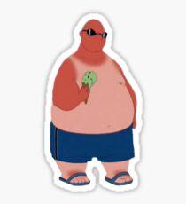 Ice cream Man lilo and stitch Sticker