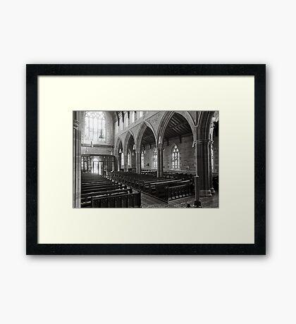 St David's Anglican Cathedral, Hobart Framed Print