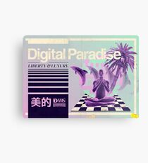 Digital Paradise Metal Print
