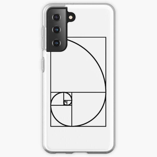 Fibonacci Spiral Samsung Galaxy Soft Case