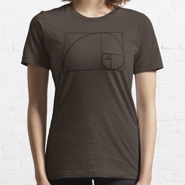 Fibonacci Spiral Essential T-Shirt