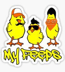 My Peeps, Baby Chicks T-Shirt Sticker
