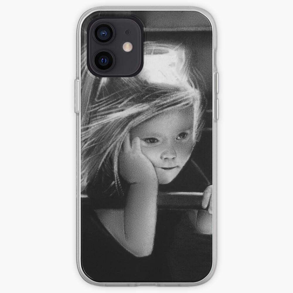 That one childhood playground that got torn down/you never saw again (charcoal drawing) iPhone Case & Cover