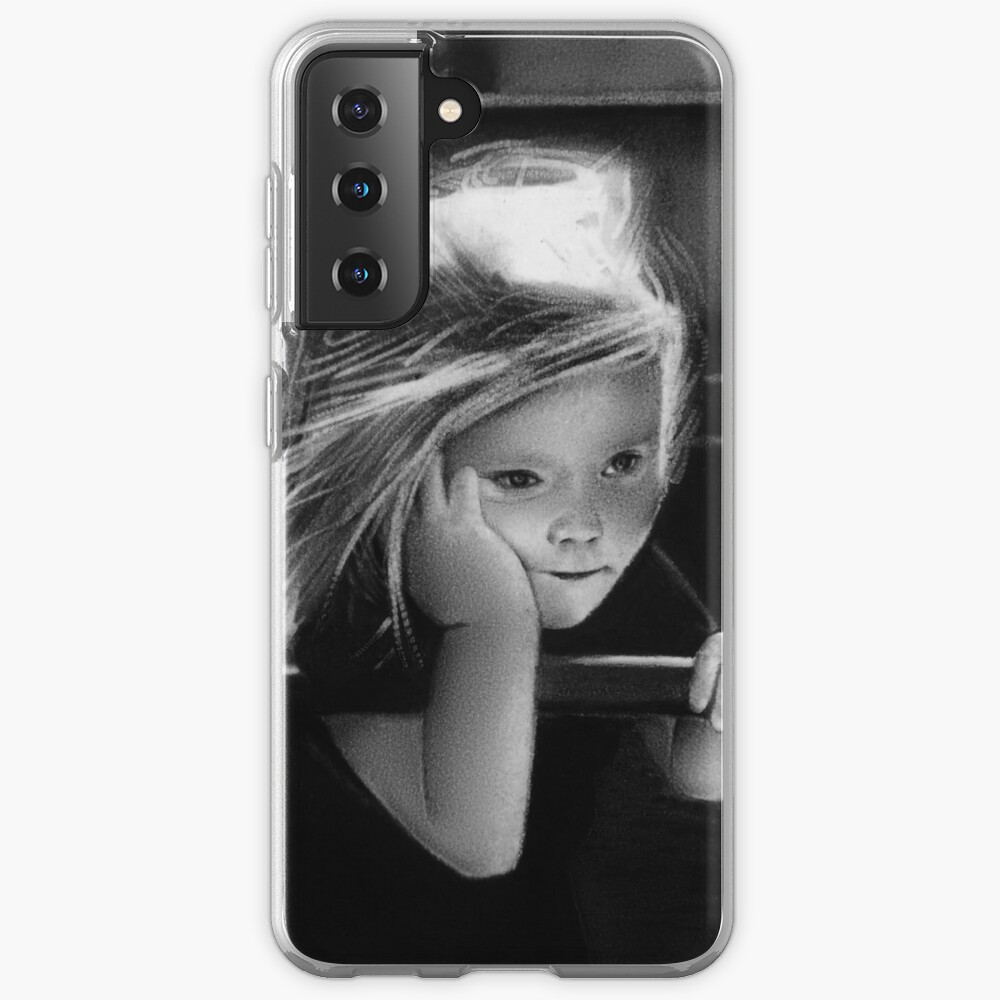 That one childhood playground that got torn down/you never saw again (charcoal drawing) Case & Skin for Samsung Galaxy