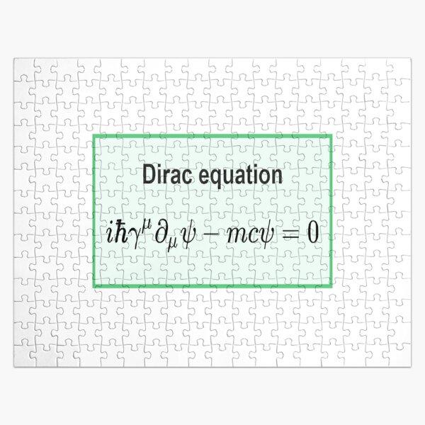 Dirac equation #Dirac #equation #DiracEquation #Physics Jigsaw Puzzle