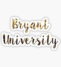 Pegatina Bryant University Confetti Print
