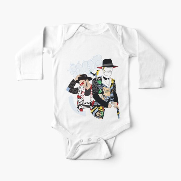 Hassidic with style | Modern and original jewish art Long Sleeve Baby One-Piece
