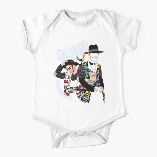 Hassidic with style | Modern and original jewish art Short Sleeve Baby One-Piece