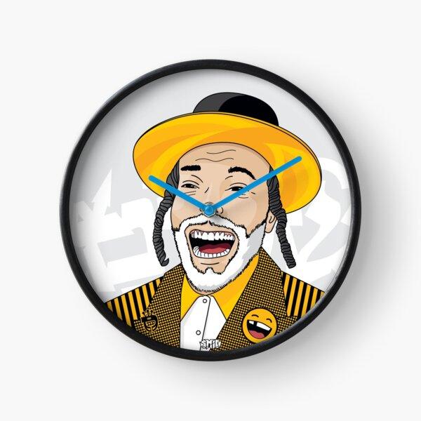 I can laugh - funny, smile   Modern and original jewish art Clock