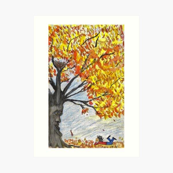 Welcome Fall Art Print