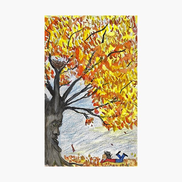 Welcome Fall Photographic Print
