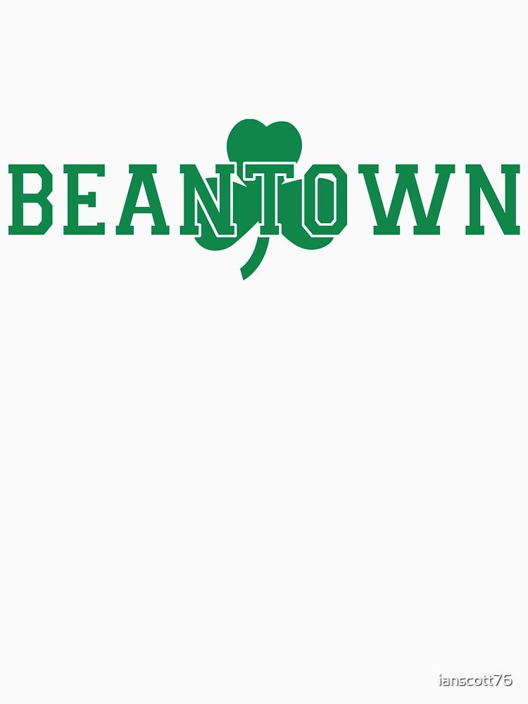 Beantown (green on white) by ianscott76