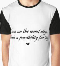 Caskett Joy Graphic T-Shirt