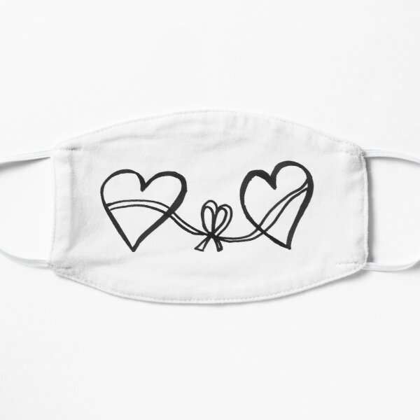 Hearts connection Small Mask
