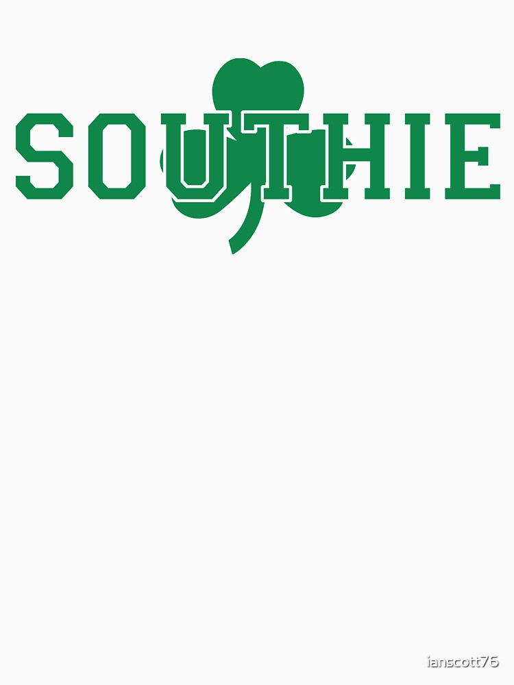Southie (green on white) by ianscott76