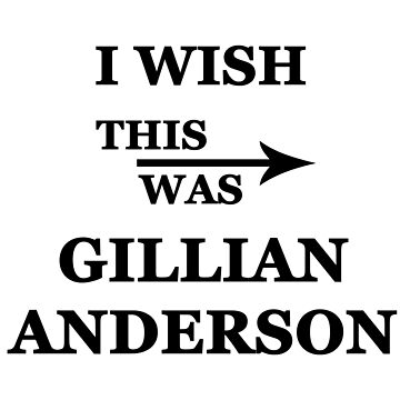 I wish this was Gillian Anderson by alwayscaskett