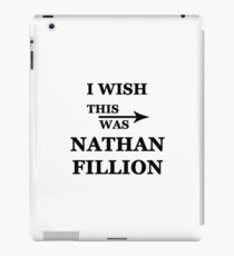 I wish this was Nathan Fillion iPad Case/Skin