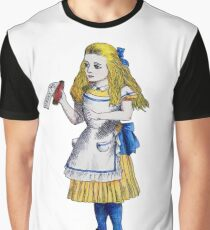 Alice 'Drink Me' Graphic T-Shirt