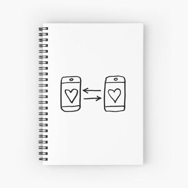 Sharing love Spiral Notebook