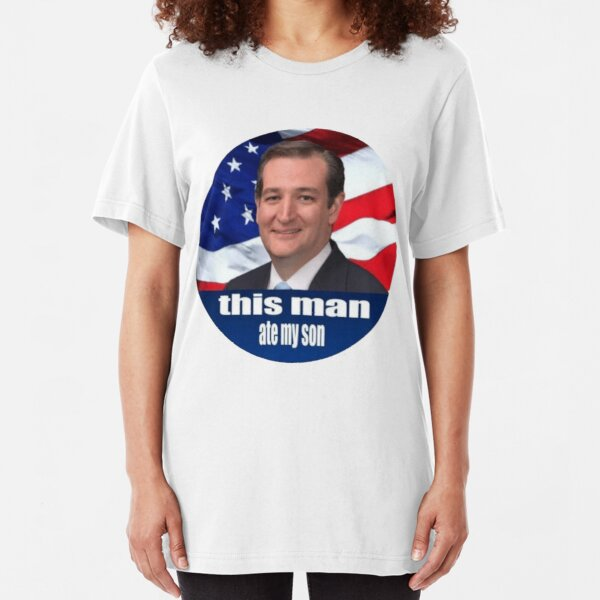 Ted Cruz is a monster 2016 Slim Fit T-Shirt