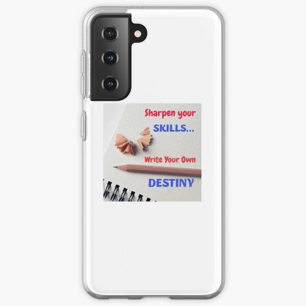 Write Destiny Samsung Galaxy Soft Case