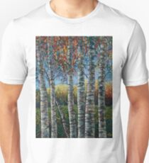 Rocky Mountain High (Palette Knife) by Lena Owens/OLena Art T-Shirt
