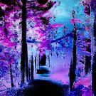 Nocturnal Woodland  by Stephanie Rachel Seely