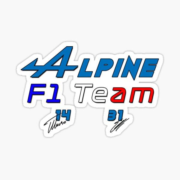 Alpines F1 Team Sticker
