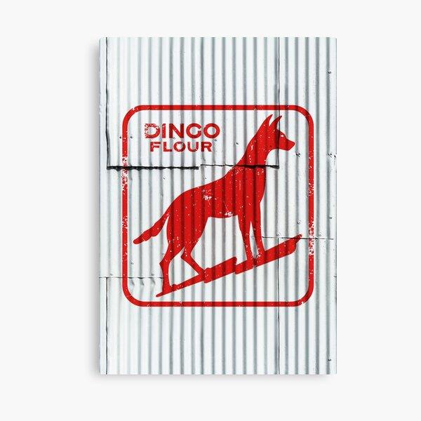 Dingo Flour (Washed & Worn) Canvas Print