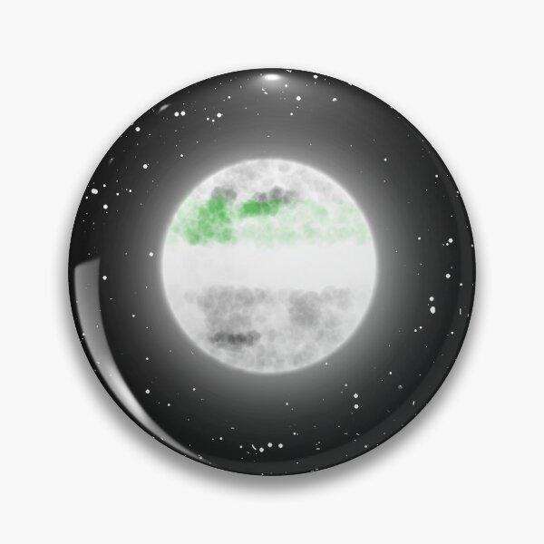 Demiromantic Moon Pin
