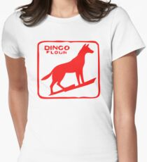 Dingo Flour  Womens Fitted T-Shirt