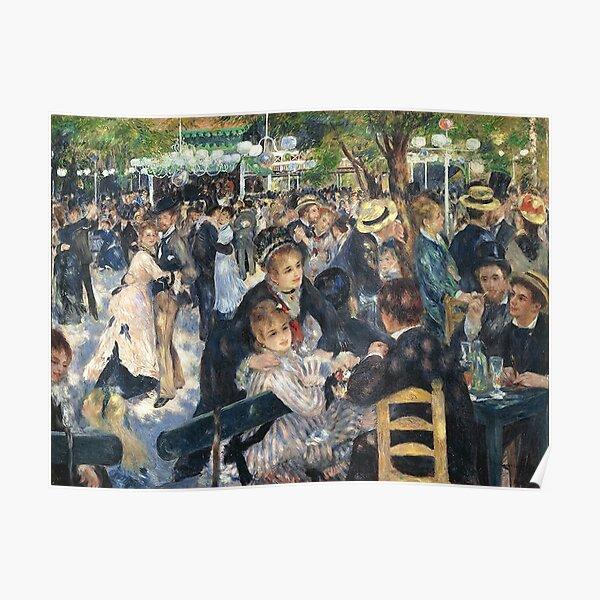 Bal du Moulin de la Galette | Pierre-Auguste Renoir Poster