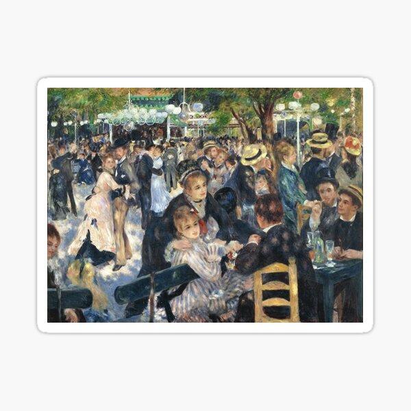 Bal du Moulin de la Galette | Pierre-Auguste Renoir Sticker