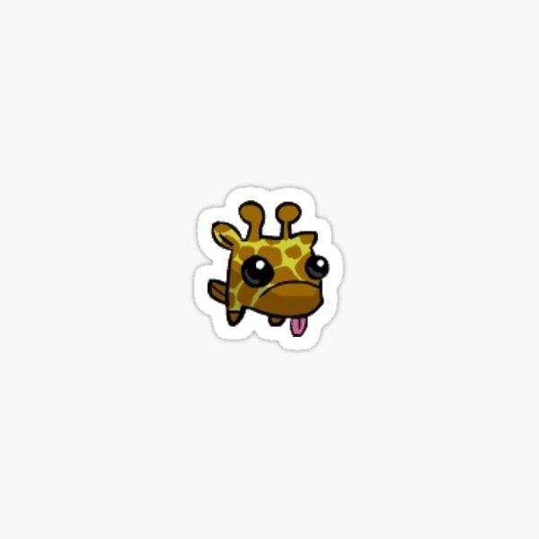 Castle Crasher Pet Giraffey Sticker