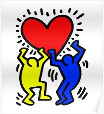 keith haring Poster