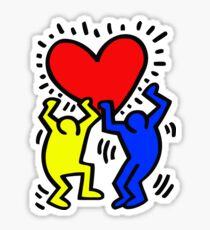 keith haring Sticker