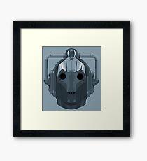 Doctor Who Cyberman Framed Print