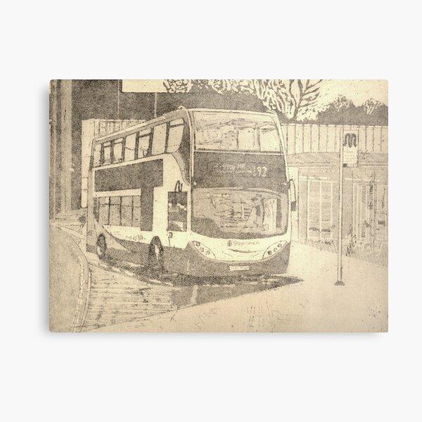 192 bus Metal Print