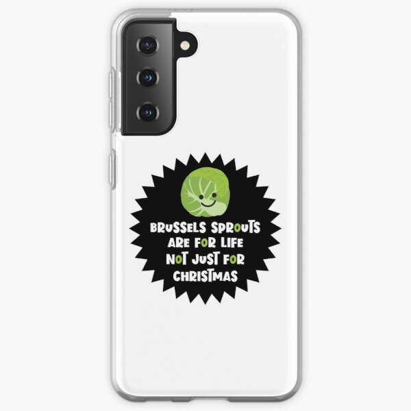 Brussels Sprouts Not Just For Christmas Samsung Galaxy Soft Case