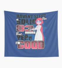 Sleepless in the Candy Kingdom Wall Tapestry