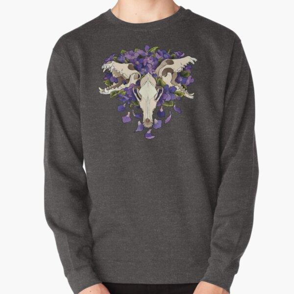 Dog violet- Cerberus Pullover Sweatshirt