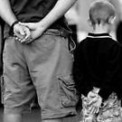 Father and Son by Clare Colins