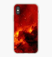Red Space iPhone Case