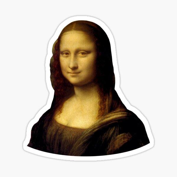 Mona Lisa - Leonardo da Vinci Sticker