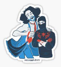 NSP babes Sticker