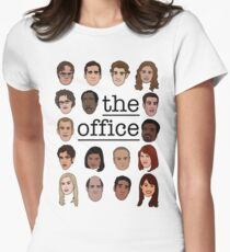 The Office Crew Women's Fitted T-Shirt