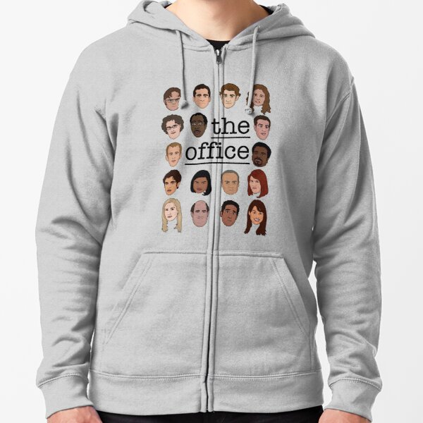 The Office Crew Zipped Hoodie