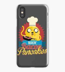 Jake The Dog Making Bacon Pancakes iPhone Case/Skin