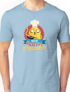 Jake The Dog Making Bacon Pancakes Unisex T-Shirt